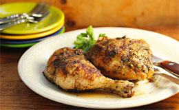 Thursday 10-Piece Grill Seasoned Baked Chicken